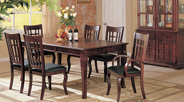 7-Piece Traditional Dining Set