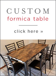 Custom Formica Table